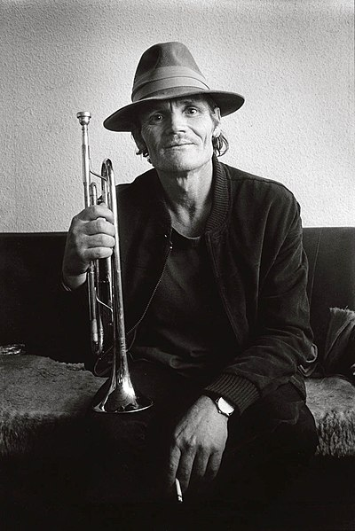 Picture of a band or musician: Chet Baker