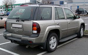 Chevrolet TrailBlazer rear 20080306.jpg