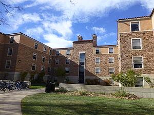 University of Colorado Boulder student housing - Cheyenne Arapaho Hall