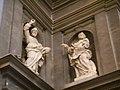 Chiesa di san gaetano, 1-2left, san giuda taddeo by giuseppe piamontini 1698 (left) & san pietro apostolo by giovan battista foggini 1683 (right).JPG