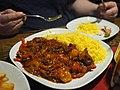 Chili prawns at restaurant Il Treno.jpg