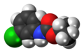 Chlorpropham molecule spacefill.png