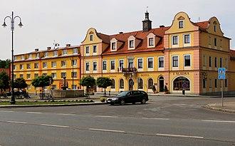 Chodová Planá - Main square