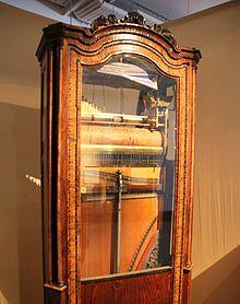 Eines der ab 1811 herausgebrachten Chordaulodions; Exponat im Norwegischen Museum für Wissenschaft und Technologie (Quelle: Wikimedia)