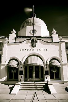 The Quapaw Bathhouse