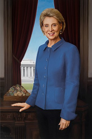Michele Rushworth - Christine Gregoire's official portrait for the Washington State Capitol building was painted by Michele Rushworth