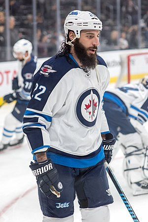 Chris Thorburn - Thorburn with the Jets in April 2016