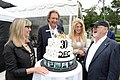 Christina Jennings, Slawko Klymkiw, Lynne St. David-Jewison and Norman Jewison at the 2017 CFC Garden Party. (48198889076).jpg