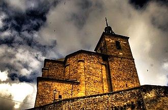 Albares - Image: Church of Albares