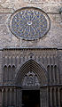 Church of Santa Maria del Pi Barcelona Entrance (5832114537).jpg