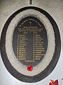 Church of St John, Finchingfield Essex England - WWI war memorial.jpg