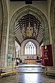 Church of St Nicholas, Ash-with-Westmarsh, Kent - chancel arch and chancel.jpg