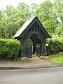 Church of the Ascension, Burghclere, Lych Gate - geograph.org.uk - 1317549.jpg