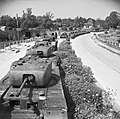 Churchill Mk IV tanks in storage on the Winchester by-pass in Hampshire, in readiness for the invasion of Europe, 16 May 1944. H38510.jpg