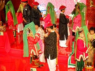 Tangerang - A traditional Cina Benteng wedding ceremony.
