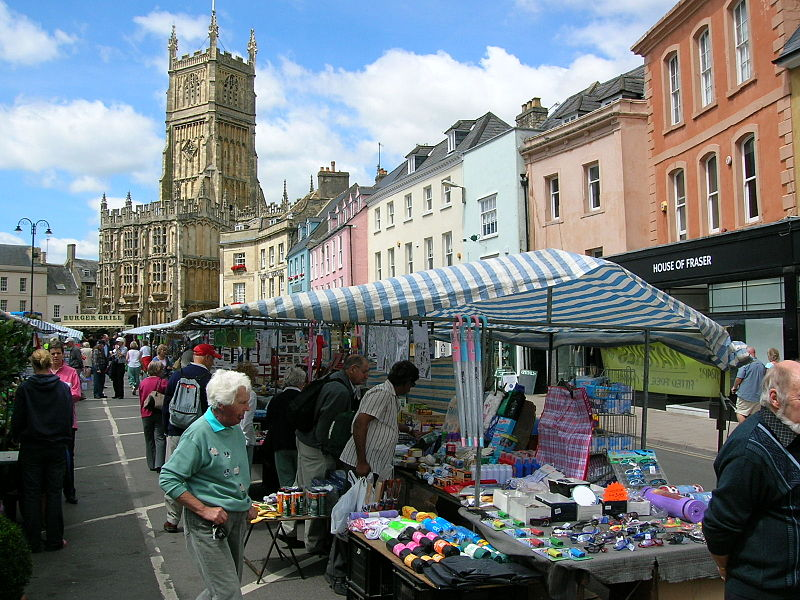 File:Cirencester, market place.jpg