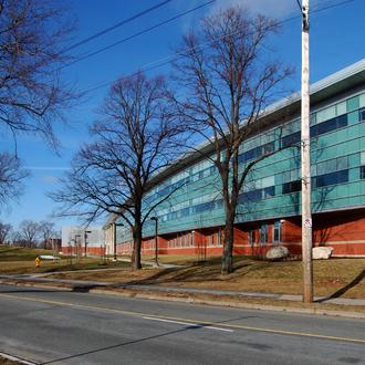 Citadel High School - Citadel High School as seen from Bell Road.