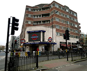 Clapham South tube station - Image: Clapham South underground station
