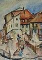 Clara Vogedes - Deutschland,Fischerhaus an der Nahe, 1937.jpg