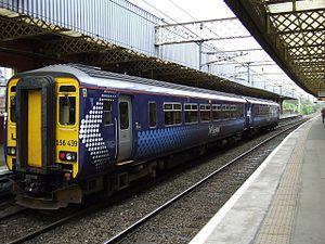 British railway rolling stock - Image: Class 156