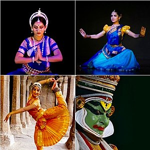 Dance in India - Dance in India include classical (above), semiclassical, folk and tribal.