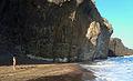 Cliffs over beach at Cabo de Gata.jpg
