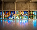 Narthex windows by Henry Haig