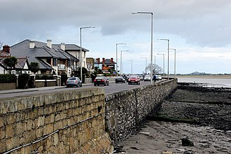 Dollymount - Clontarf Road at Dollymount