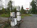 Closed filling station, Calvine - geograph.org.uk - 806542.jpg