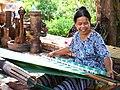 Cloth maker at Nha Trang Ponagar Tower - panoramio.jpg