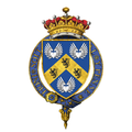 Coat of Arms of Clement Attlee, 1st Earl Attlee, KG, OM, CH, PC, FRS.png