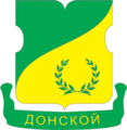 Coat of Arms of Donskoy (municipality in Moscow) (2001).png