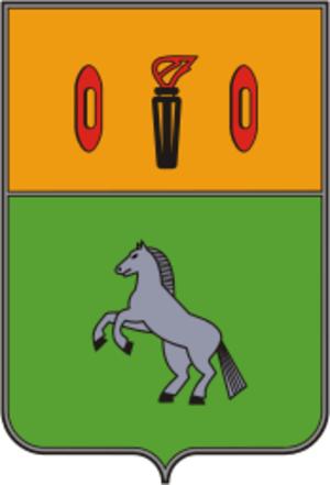 Gavrilov Posad - Image: Coat of Arms of Gavrilov Posad (Ivanovo oblast) (1989)