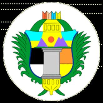 Departments of Guatemala - Image: Coat of arms of Chimaltenango Department