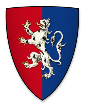 Hugh Bigod, 3rd Earl of Norfolk - Arms used by Hugh Bigod, as heir to the earldoms of Norfolk and Suffolk, and as recorded during the signing of Magna Charta