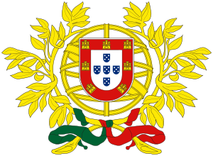 English: Coat of arms of Portugal Español: Esc...