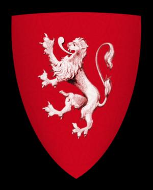 Burton Lazars - Image: Coat of arms of William de Mowbray, Lord of Axholme Castle