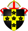 Coat of arms of the Diocese of St Davids.svg