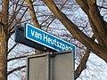 Coevorden Straatnaambord Van Heutszpark.JPG