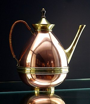 William Arthur Smith Benson - Coffee pot, designed by William Arthur Smith Benson, before 1900