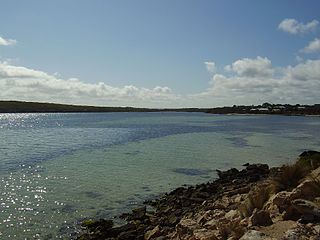 Coffin Bay Town in South Australia