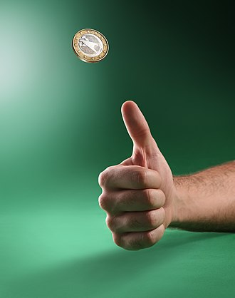 Coin flipping - Tossing a coin