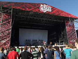 Het Coke Live Music Festival in 2011.