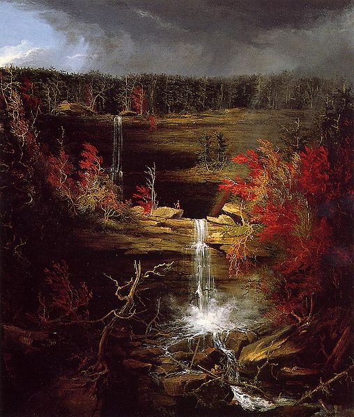 Thomas Cole's Falls of the Kaaterskill