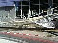 Collapsed scafolding outside Premier Inn - London Euston - panoramio (1).jpg