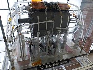 Collider Detector at Fermilab - CDF silicon vertex detector