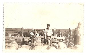 South African Argentines - Boer settlers in Pastos Blancos, Chubut Province.