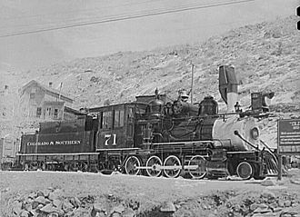 Colorado and Southern Railway - Image: Colorado & Southern 71 1941