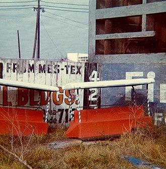 Colt Stadium - Colt Stadium junkyard, February 18, 1973