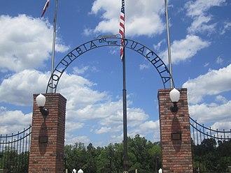 Columbia, Louisiana - Gateway to Ouachita River at Columbia, Louisiana